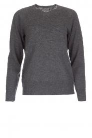 Hunkydory | Wollen trui Earl | grijs  | Afbeelding 1