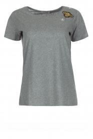 Hunkydory | Katoenen T-shirt Bumblebee | grijs  | Afbeelding 1