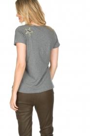 Hunkydory | Katoenen T-shirt Bumblebee | grijs  | Afbeelding 5