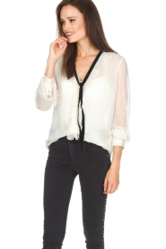 Hunkydory | Blouse Janis | wit  | Afbeelding 2
