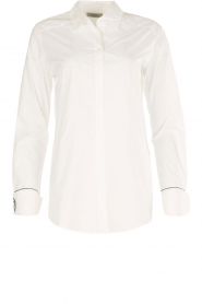 Hunkydory | Blouse June | wit  | Afbeelding 1