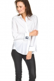 Hunkydory | Blouse June | wit  | Afbeelding 2