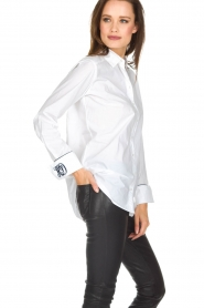 Hunkydory | Blouse June | wit  | Afbeelding 4
