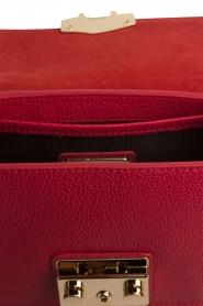 Furla | Leren schoudertas Metropolis Mini | rood  | Afbeelding 6