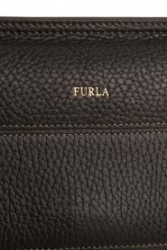Furla | Leren schoudertas Furla Like | zwart  | Afbeelding 5