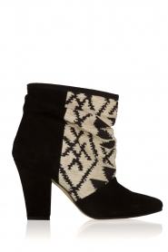 Howsty |  Suede ankle boots Goda | black  | Picture 1