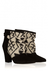 Howsty |  Suede ankle boots Goda | black  | Picture 4