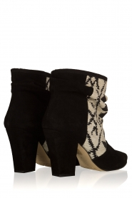 Howsty |  Suede ankle boots Goda | black  | Picture 5