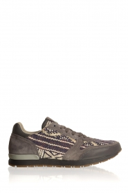 Howsty |  Leather sneakers Naaz | grey  | Picture 1