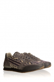 Howsty |  Leather sneakers Naaz | grey  | Picture 3