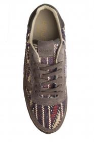 Howsty | Leren sneakers Naaz | grijs  | Afbeelding 5