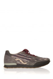 Howsty |  Leather sneakers Naaz | grey  | Picture 7