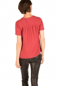 Knit-ted | Blouse Minne | rood  | Afbeelding 4