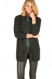 Knit-ted | Vest Blue | groen  | Afbeelding 2