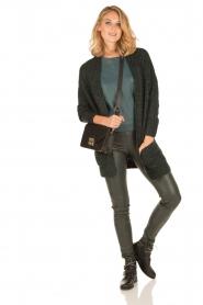 Knit-ted | Vest Blue | groen  | Afbeelding 3