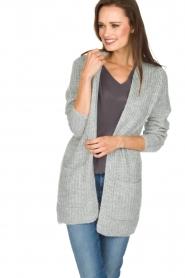 Knit-ted | Vest Blue | grijs  | Afbeelding 2