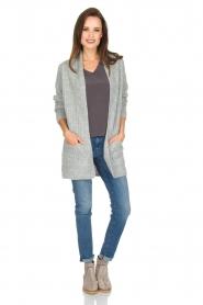 Knit-ted | Vest Blue | grijs  | Afbeelding 3