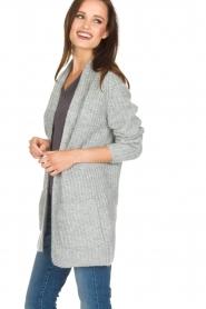 Knit-ted | Vest Blue | grijs  | Afbeelding 4