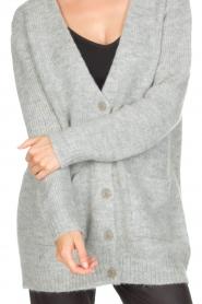 Knit-ted | Vest Bodil | grijs  | Afbeelding 7