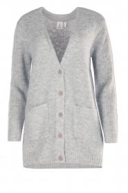 Knit-ted | Vest Bodil | grijs  | Afbeelding 1