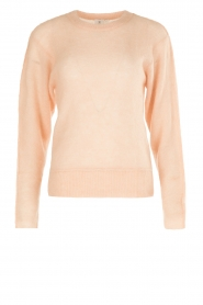 Knit-ted | Gebreide trui Babs | roze  | Afbeelding 1