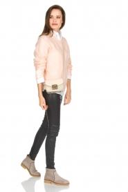 Knit-ted | Gebreide trui Babs | roze  | Afbeelding 3
