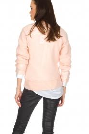 Knit-ted | Gebreide trui Babs | roze  | Afbeelding 5