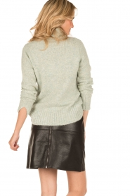 Knit-ted | Faux leren rok Olga | zwart  | Afbeelding 5