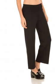 Knit-ted |  Flared pants Baafje | black  | Picture 4