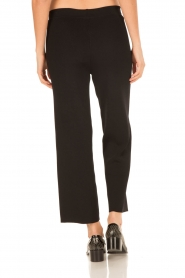 Knit-ted |  Flared pants Baafje | black  | Picture 5