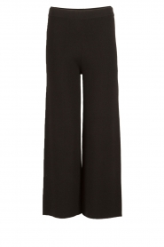 Knit-ted |  Flared pants Baafje | black  | Picture 1