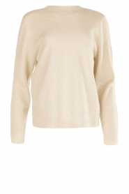 Knit-ted | Trui Blossom | Beige