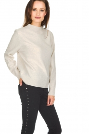 Knit-ted |  Sweater Blossom | Beige  | Picture 4