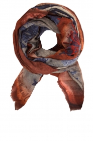 I love my Moment   Wollen sjaal Berry   multi    Afbeelding 1