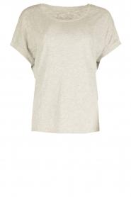 Juvia | T-shirt Lisa | grijs  | Afbeelding 1