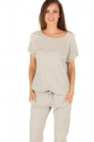 Juvia | T-shirt Lisa | grijs  | Afbeelding 2