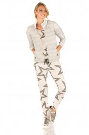 Juvia | Sweatshirt Yentl Stars | wit  | Afbeelding 3