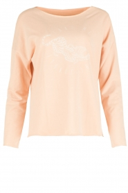 Juvia | Sweater Jungle | roze  | Afbeelding 1