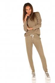 Juvia | Sweater Tanya | groen  | Afbeelding 6