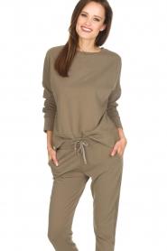 Juvia | Sweater Tanya | groen  | Afbeelding 2