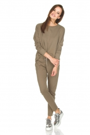 Juvia | Sweater Tanya | groen  | Afbeelding 3