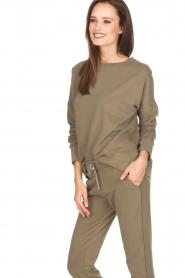 Juvia | Sweater Tanya | groen  | Afbeelding 4