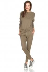 Juvia | Sweatpants Tanya | groen  | Afbeelding 3