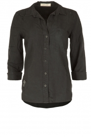 Bella Dahl |  Blouse Bizzy | black  | Picture 1