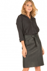 Bella Dahl |  Blouse Bizzy | black  | Picture 2