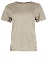 American Vintage | T-shirt Sand Sky | grijs  | Afbeelding 1