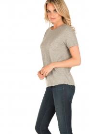 American Vintage | T-shirt Sand Sky | grijs  | Afbeelding 3