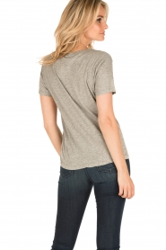 American Vintage | T-shirt Sand Sky | grijs  | Afbeelding 4