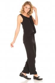 American Vintage | High waist broek Azawood | zwart  | Afbeelding 3