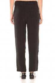 American Vintage | High waist broek Azawood | zwart  | Afbeelding 5